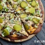 Keto Big Mac Pizza