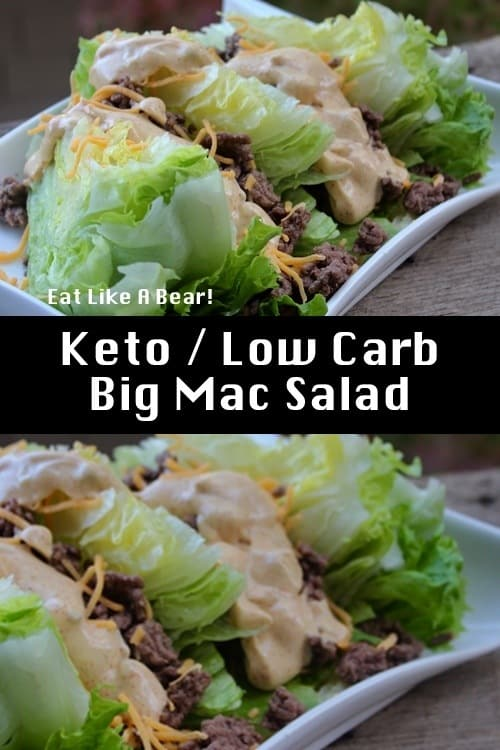Keto Big Mac Salad