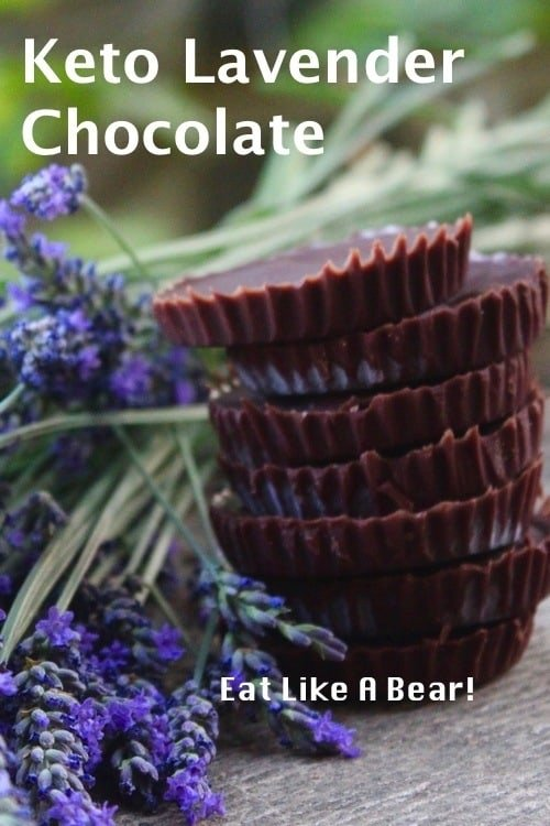 Keto Chocolate with Lavender