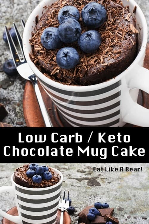 Keto Chocolate Mug Cake