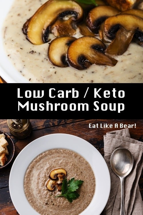 Keto Mushroom Soup, A Low Carb / Keto Soup Solution!