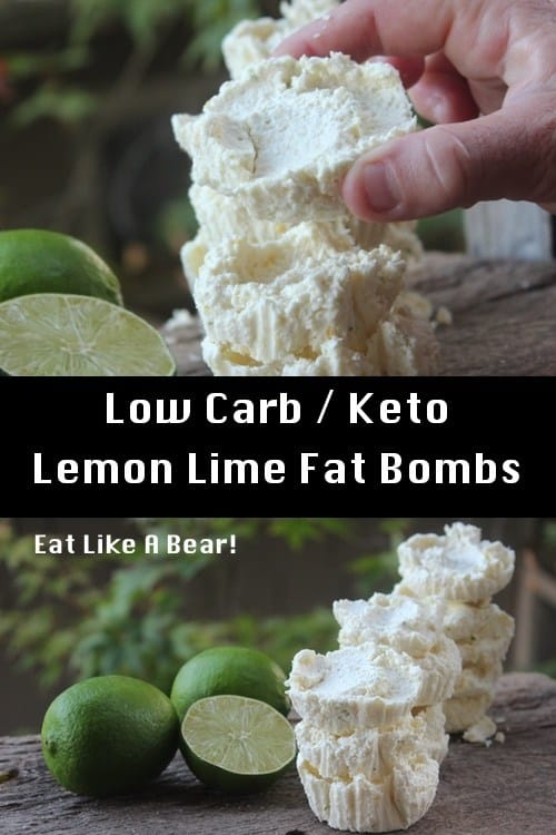 Keto Lemon Lime Cheesecake Fat Bombs!