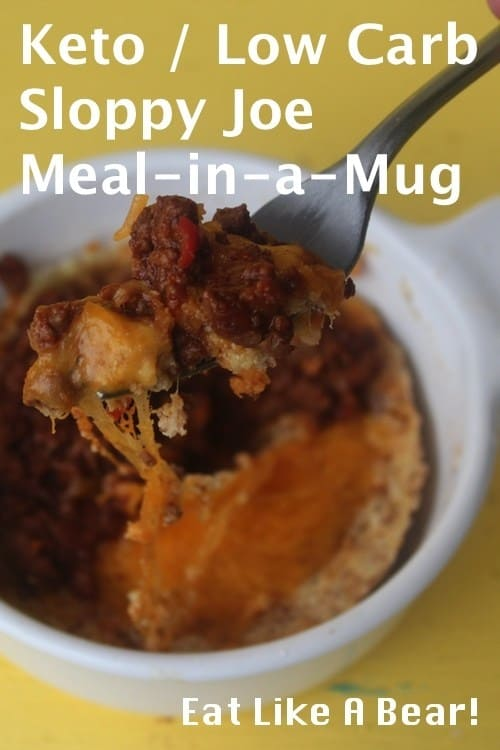 Keto Sloppy Joe Meal-in-a-Mug