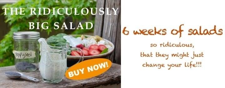 The Ridiculously Big Salad