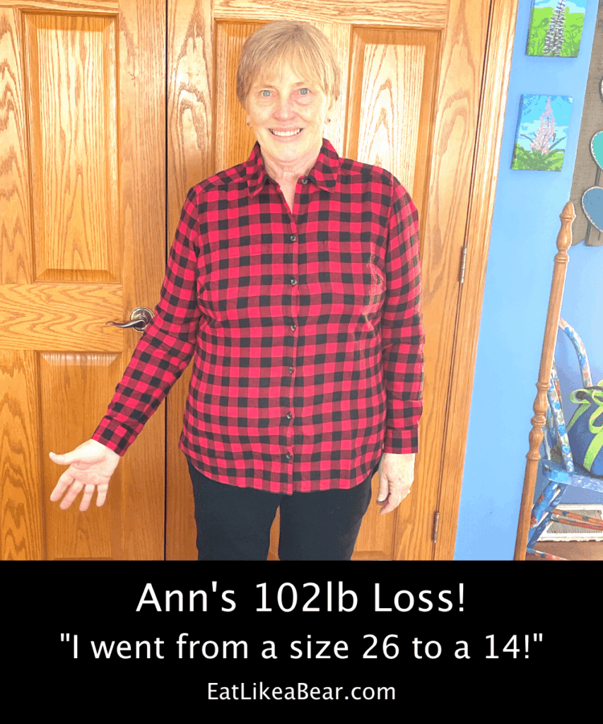 Photo of Ann after 102 pound weight loss