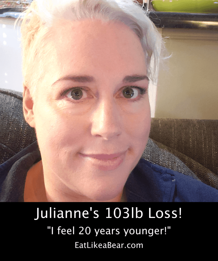 Photo of Julieanne after 103 pound weight loss