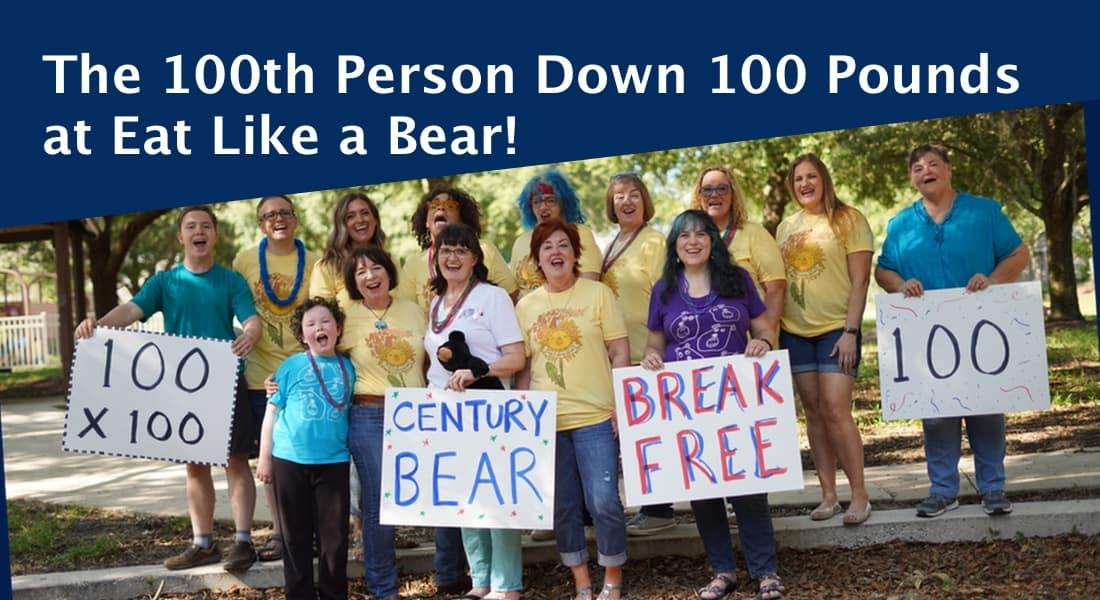 Century Bear Group Photo