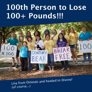 A group photo with our 100th Century Bear